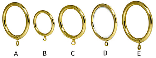 Curtains Ideas curtain rings brass : Doucakis Brass